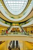 Vue du centre commercial de centre de Rideau à Ottawa du centre, Canada Photos libres de droits