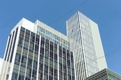 Vue du centre d'affaires de la ville photo libre de droits