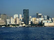 Vue du centre de Rio de Janeiro Image stock