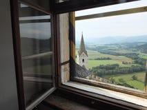 Vue du château Image libre de droits