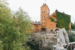 Vue du château dans Radomyshl, Ukraine Photo stock
