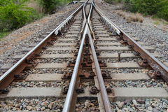 Vue du chemin de fer Photo stock