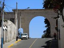 Vue du colonial du centre, Arequipa, Pérou photographie stock libre de droits