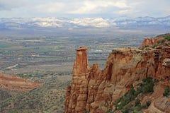Vue du Colorado nanomètre juin grand Photographie stock