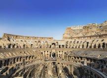 Vue du Colosseum à l'intérieur, Rome Photo libre de droits