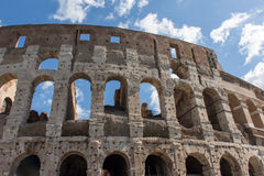 Vue du Colosseum à Rome Photos libres de droits