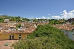 VUE DU CUBA TRINIDAD DE TOUR DE CLOCHE Photo stock