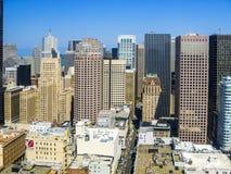 Vue du dessus de toit à San Francisco Photographie stock libre de droits