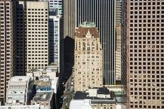 Vue du dessus de toit à San Francisco, Etats-Unis Image stock