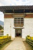 Vue du Dzong dans Punakha Bhutan Images stock