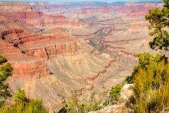 Vue du fleuve Colorado dans Grand Canyon Images libres de droits