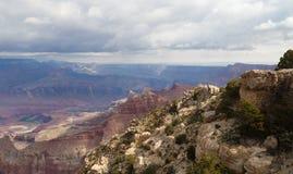 Vue du fleuve Colorado et de Grand Canyon NP image libre de droits