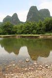 Vue du fleuve de Li photographie stock