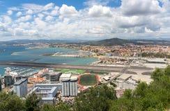 Vue du Gibraltar Photographie stock