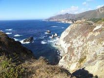 Vue du grand littoral de Sur Image libre de droits