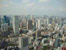 vue du gratte-ciel à la ville de Tokyo images libres de droits