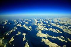 Vue du Groenland Image libre de droits