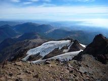 Vue du haut de la sierra arête de nevado en piment Photos stock