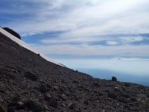 Vue du haut de la sierra arête de nevado en piment Photo libre de droits