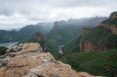 Vue du haut des montagnes sud-africaines photo libre de droits