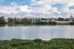 Vue du lac photos stock