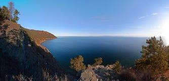 Vue du lac Baïkal Russie Photos libres de droits