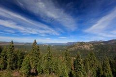 Vue du lac Tahoe Photo libre de droits