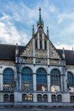 Vue du Landesmuseum à Zurich Image stock