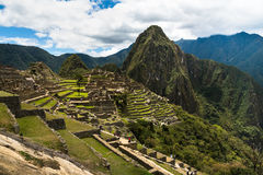 Vue du Machu Picchu Photo stock