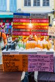 Vue du marché dans la vieille ville de Phuket photo libre de droits