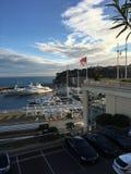 Vue du Monaco, Monte Carlo photographie stock libre de droits