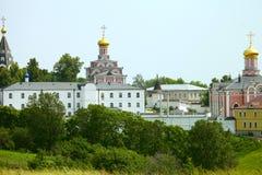 Vue du monastère Photographie stock libre de droits