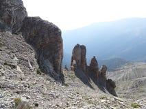 Vue du mont Olympe photos libres de droits