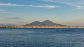 Vue du mont Vésuve près de Naples, Italie images libres de droits
