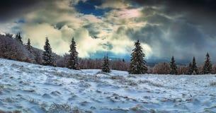 Vue du montagneux photographie stock