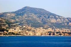 Vue du musée océanographique du Monaco, Monte Carlo de Photographie stock