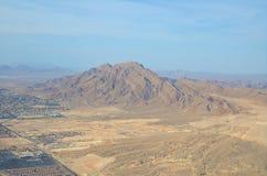 Vue du Nevada de haute haute Photo stock