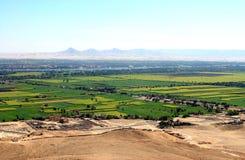 Vue du Nil Valey Photographie stock