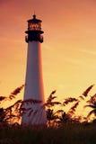 Vue du nord du phare Photo libre de droits
