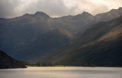Vue du Nouvelle-Zélande Photo libre de droits