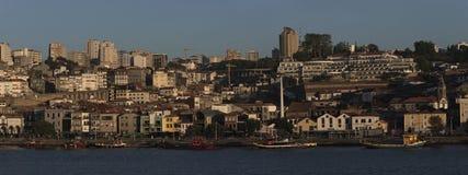 Vue du nova DA Gaïa, Porto, Portugal de vila photos stock