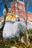 Vue du palais de Pena Images libres de droits