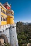Vue du palais de Pena Photographie stock