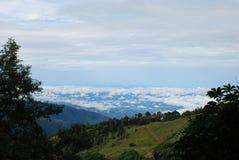 Vue du Paramo, Costa Rica Photographie stock