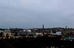 Vue du paysage urbain d'Edimbourg photo stock