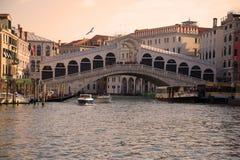 Vue du pont de Rialto, Venise photo libre de droits