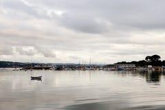 Vue du port Photo stock