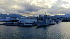 Vue du port de Palerme clips vidéos