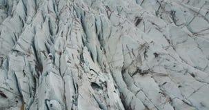 Vue du rivage de brise-glace de l'océan du nord banque de vidéos