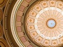Vue du rotunda dans le capitol d'état de la Californie photos stock